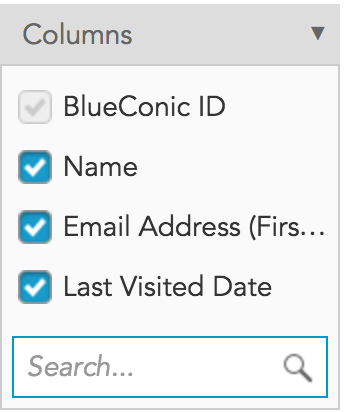 How to examine marketing customer data in the BlueConic customer data platform (CDP)