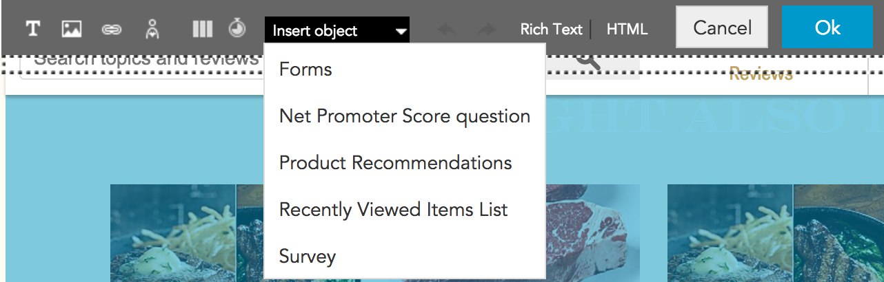 adding product recommendations with BlueConic