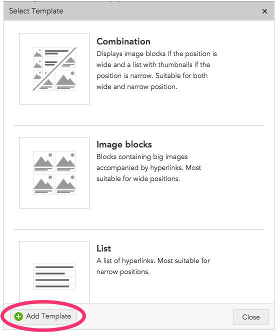 Content recommendations templates – BlueConic Knowledge Base