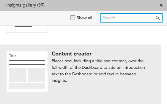 How do I use the Content Creator insight in BlueConic?