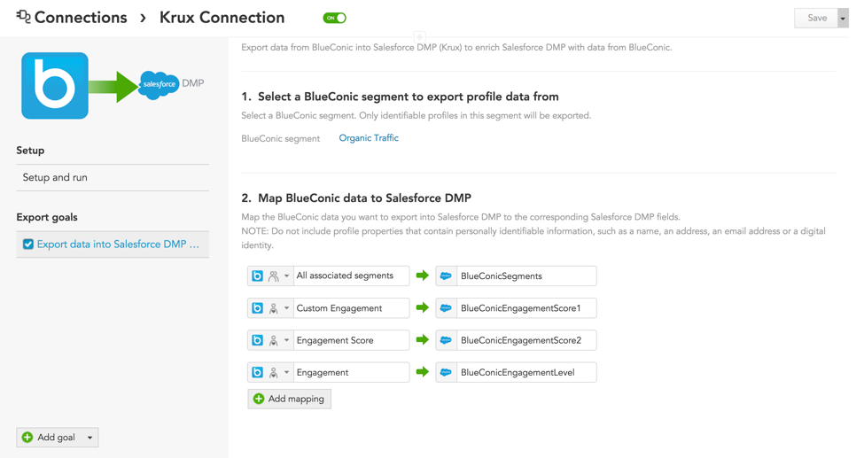 How to syncrhonize customer data between Salesforce and your customer data platform, BlueConic