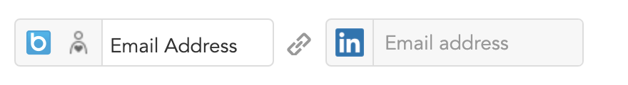 How to match BlueConic customer profiles with LinkedIn profiles