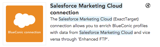 How to synchronize customer profile data between Salesforce Marketing Cloud and BlueConic