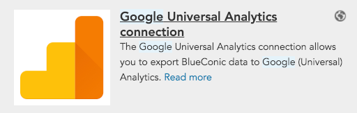 How do I connect BlueConic to Google Analytics?