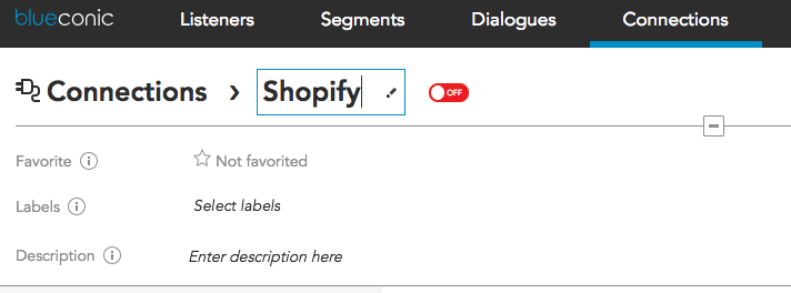 How to connect customer profile data between Shopify and BlueConic