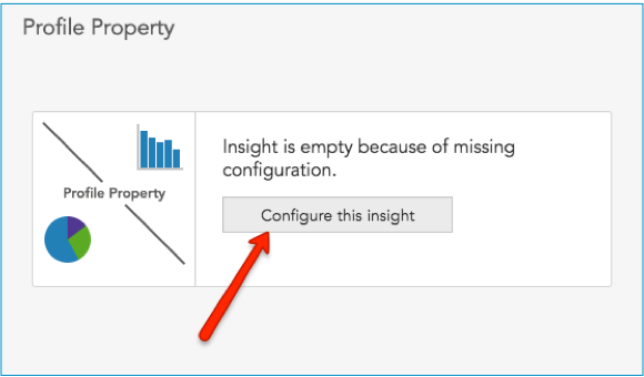 How to use the Profile Property insight in BlueConic to gain insight on customer behavior and content personalization