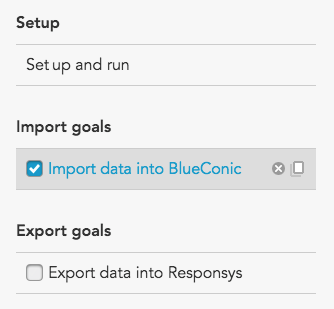 How to connect Oracle Responsys to BlueConic customer data