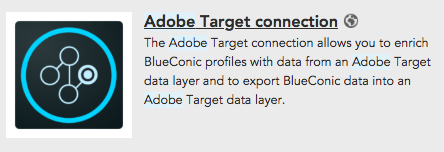 How to create an Adobe Target connection to exchange customer data with BlueConic