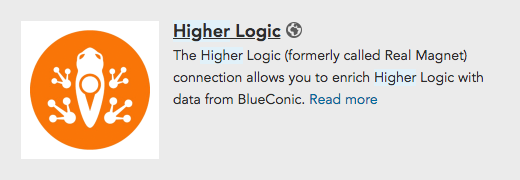 How to configure a connectionn between Higher Logic and the BlueConic customer data platform