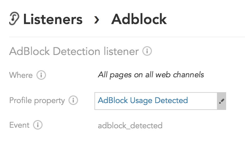 How can I detect customers using AdBlockers so I can deliver marketing messages with BlueConic?
