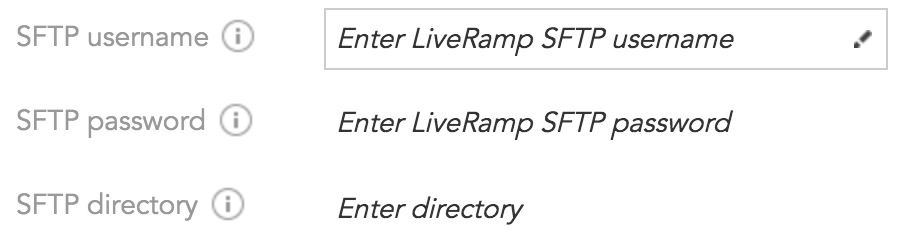 How to set up a connection between LiveRamp and the BlueConic customer data platform