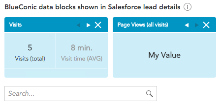 How to display BlueConic profile properties in Salesforce using the Salesforce Connection