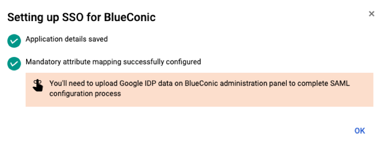 How do I set up SAML and  Single Sign-On (SSO) for BlueConic?