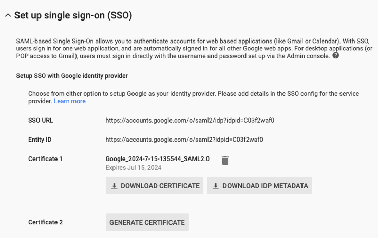 How do I set up SAML and  Single Sign-On (SSO) for BlueConic user authentication and authorization?