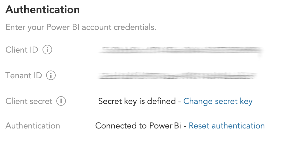 How do I create a connection between BlueConic and Power BI?