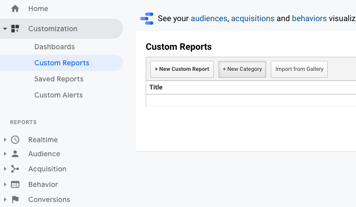 How to exachange customer profile data between the BlueConic customer data platform and Google Analytics