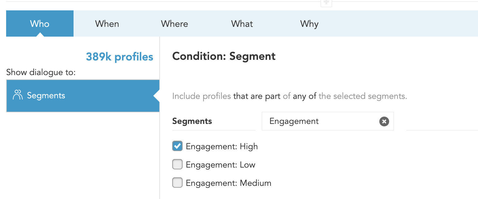 How to target behavioral customer segments for lead generation campaigns with BlueConic