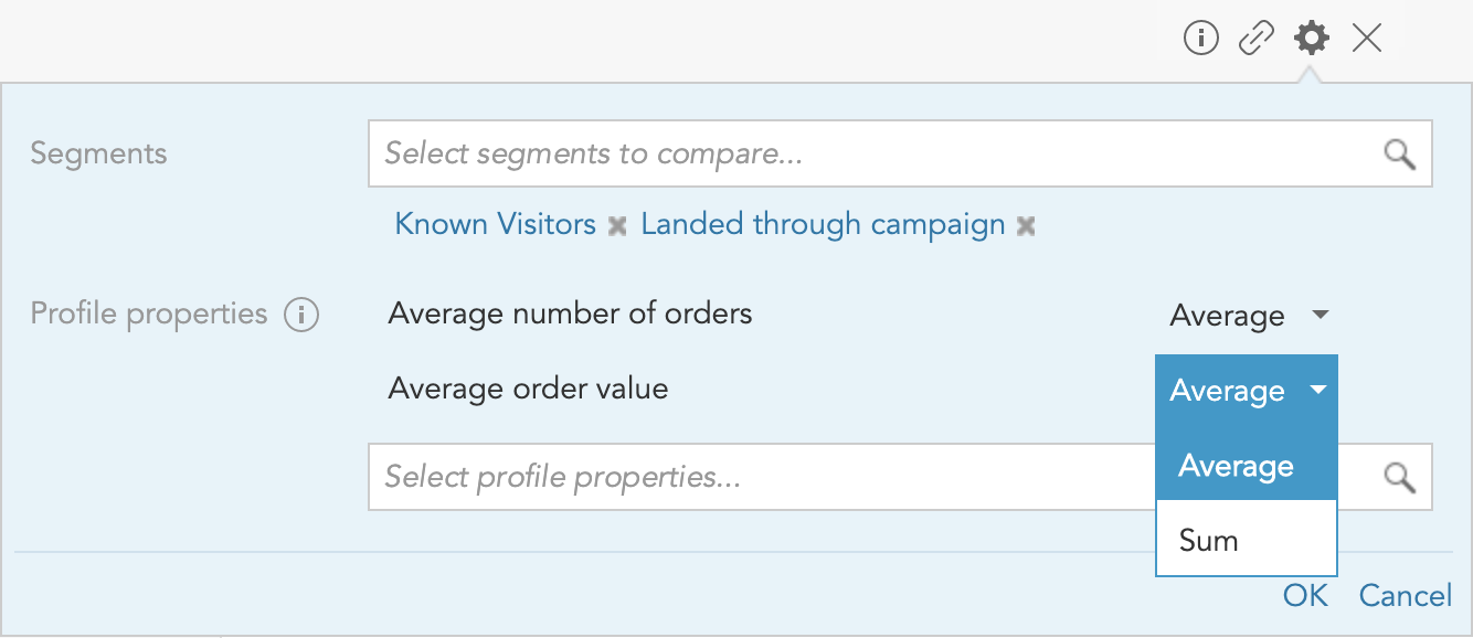 How to set up the customer Segment Comparison Insight in the BlueConic customer data platform