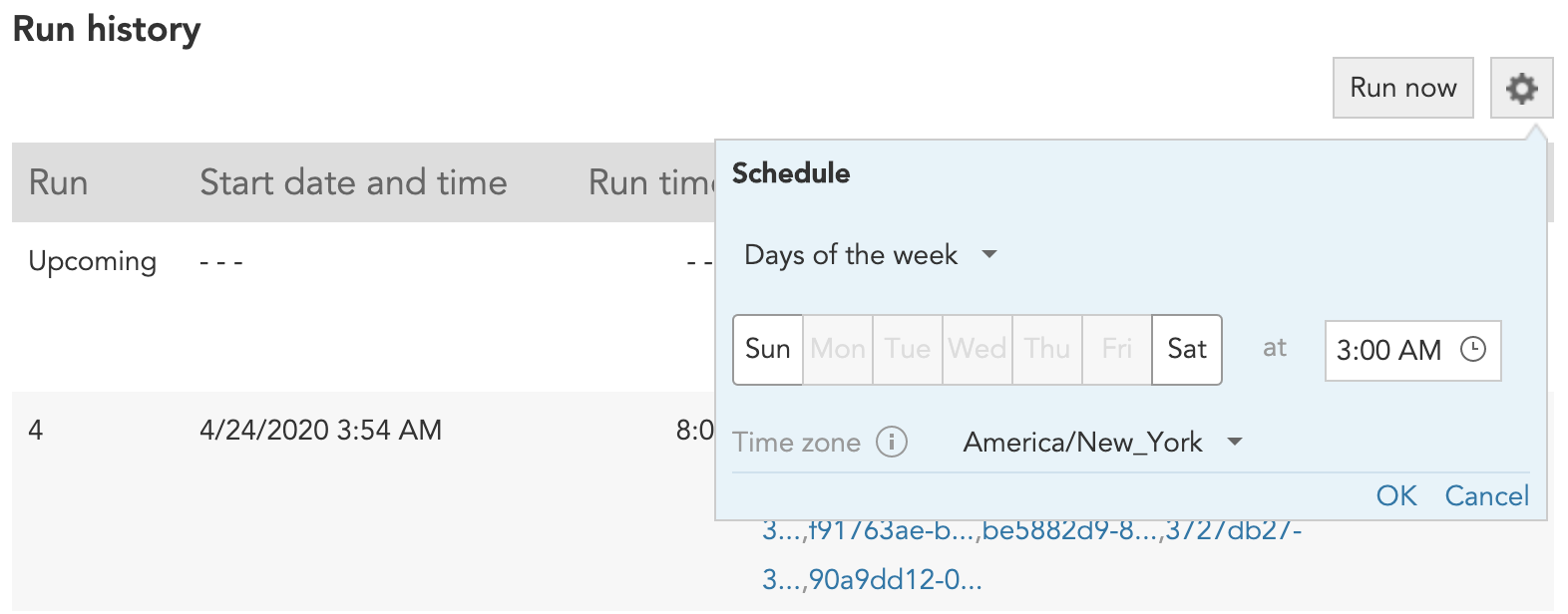 How to run a Timeline Query in BlueConic