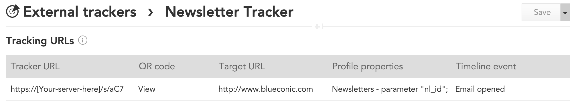 How to use tracking pixels and tracking URLs withe BlueConic CDP to track customer data