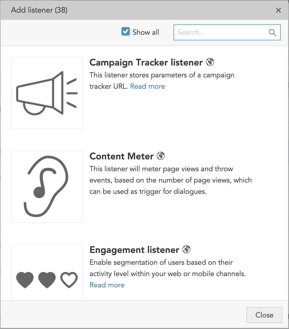 How to create listeners to collect customer profile data with the BlueConic customer data platform (CDP)