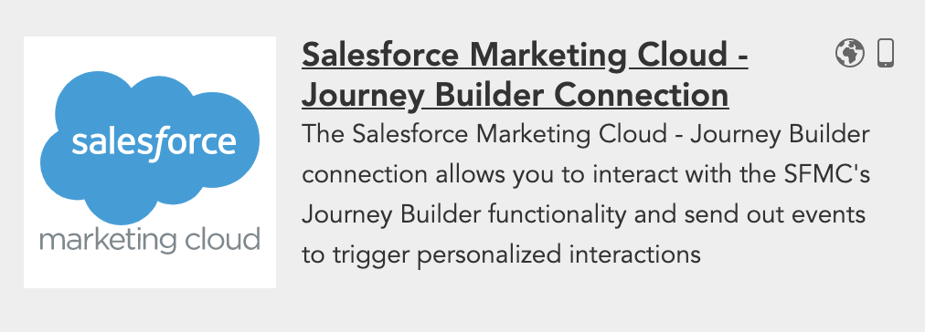 How to use BlueConic customer data to trigger Salesforce Marketing Cloud Journey Builder events