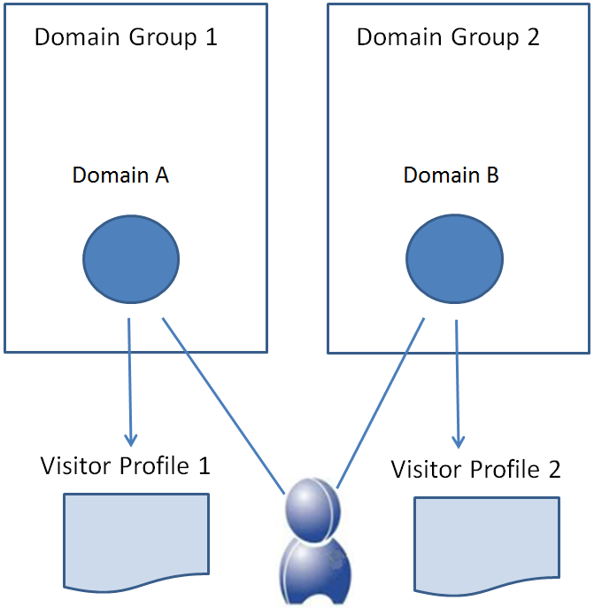 How does profile sharing work in BlueConic?