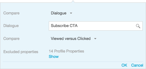 how do I see which customers are viewing a content dialogue in BlueConic?