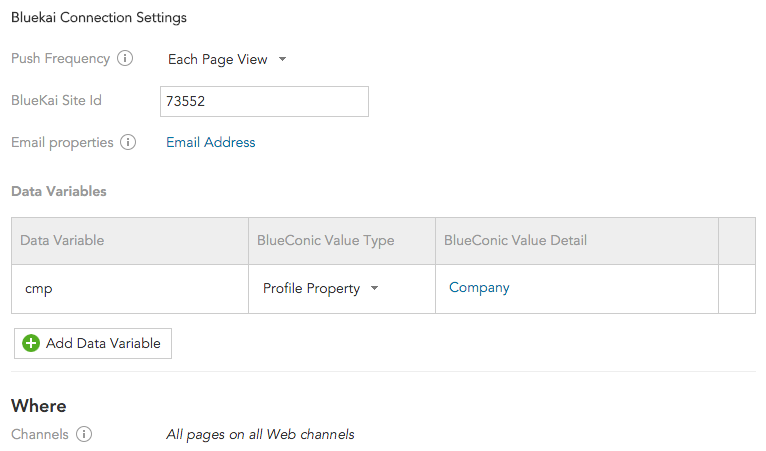 How to synchronize customer data between BlueKai and BlueConic