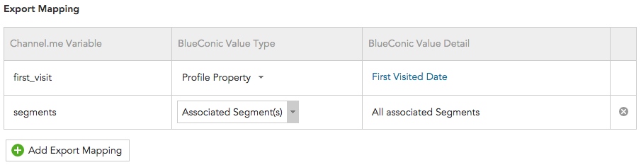 How to synchronize BlueConic customer data with Channel.me
