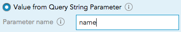 using the query string parameter value from a URL to collect first-party customer data BlueConic