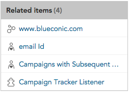 How do I know if other BlueConic objects are using this listener to collect behavioral customer data?