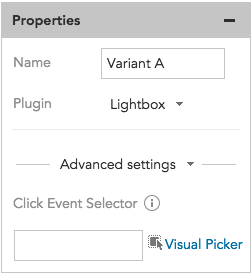 How to register conversions and click events from content overlay lightboxes in BlueConic